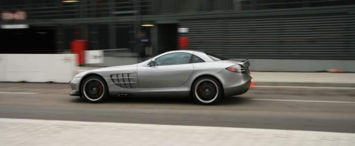 Mercedes SLR Mc Laren 722