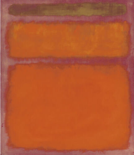Orange, Red, Yellow - Rothko