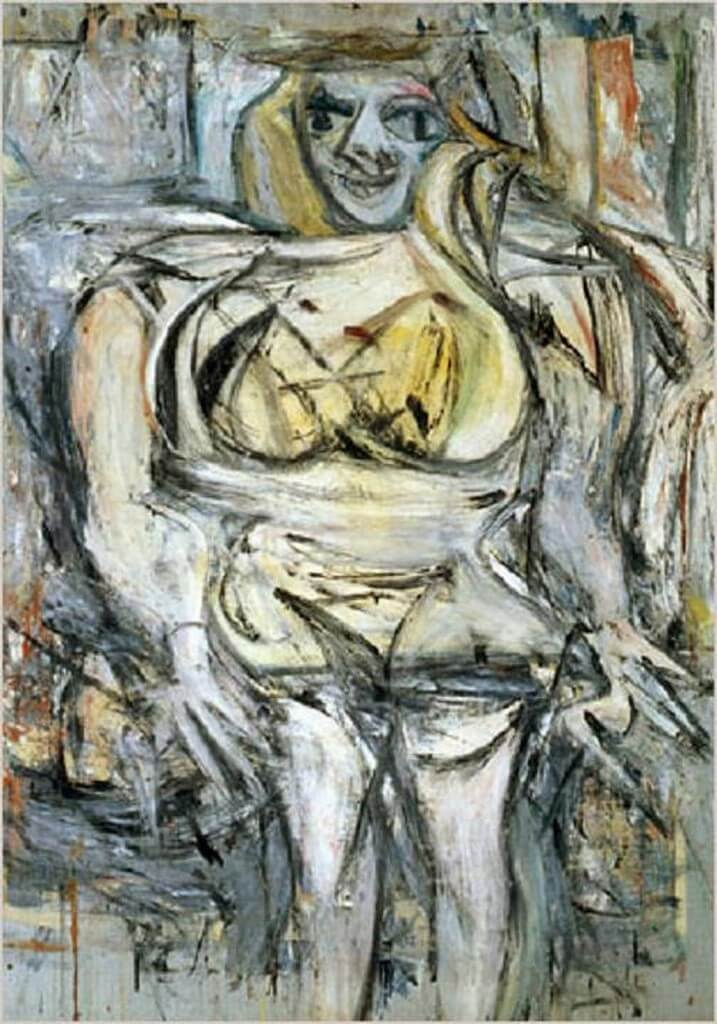 Woman III - Willem de Kooning