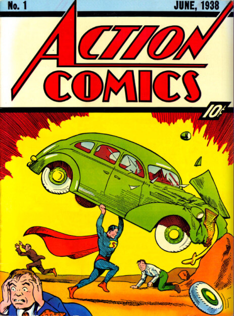 Action Comics Nr.1-Jahr 1938