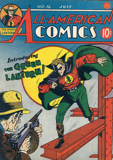All-American Comics Nr.16-Jahr 1939