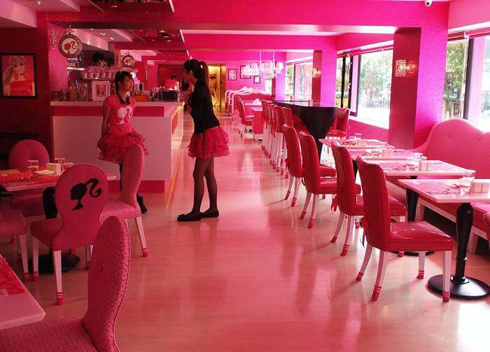 Barbie Cafe Taipeh