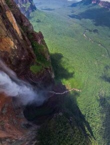 Die 10 höchsten Wasserfälle der Welt