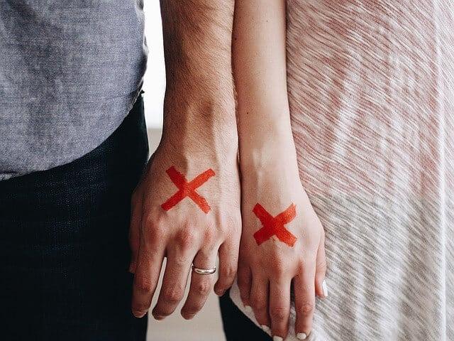 Die 10 häufigsten Gründe für eine Ehekrise