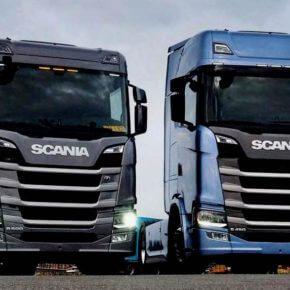 Scania blickt in die Zukunft: der Scania Next Generation erobert die Straßen
