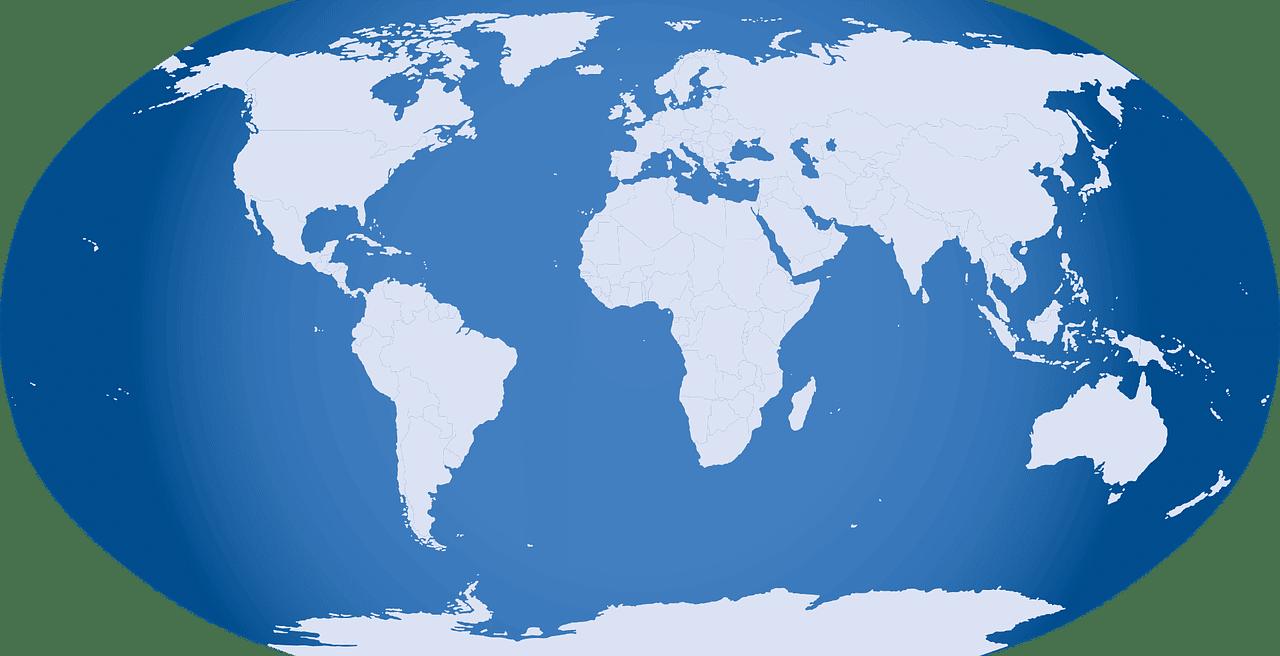 Die 10 größten Länder der Welt