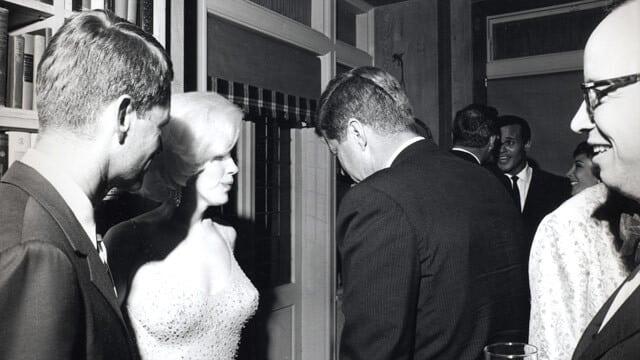 Die Liaison zwischen John F. Kennedy und Marilyn Monroe