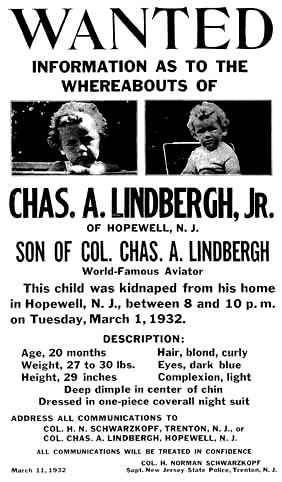 Die Entführung des Lindbergh-Babys
