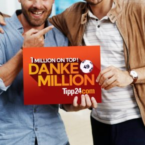 Danksagung mal anders: Mit einer Million bei Tipp24 [Sponsored Video]