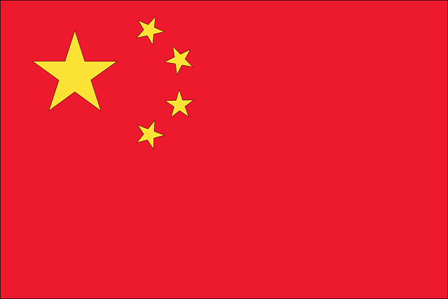 Flagge, China