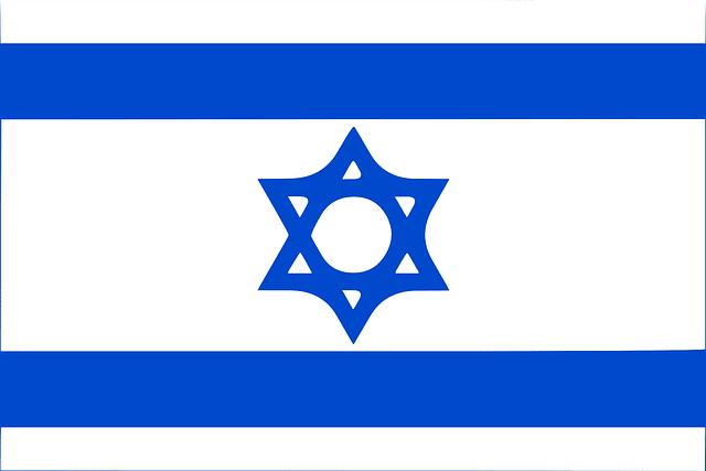 Flagge, Israel