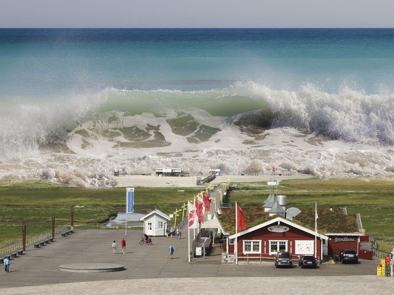 Die 10 größten Tsunamis der Welt