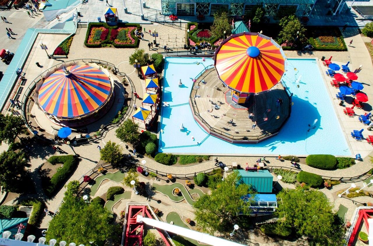 Die 10 größten Freizeitparks der Welt