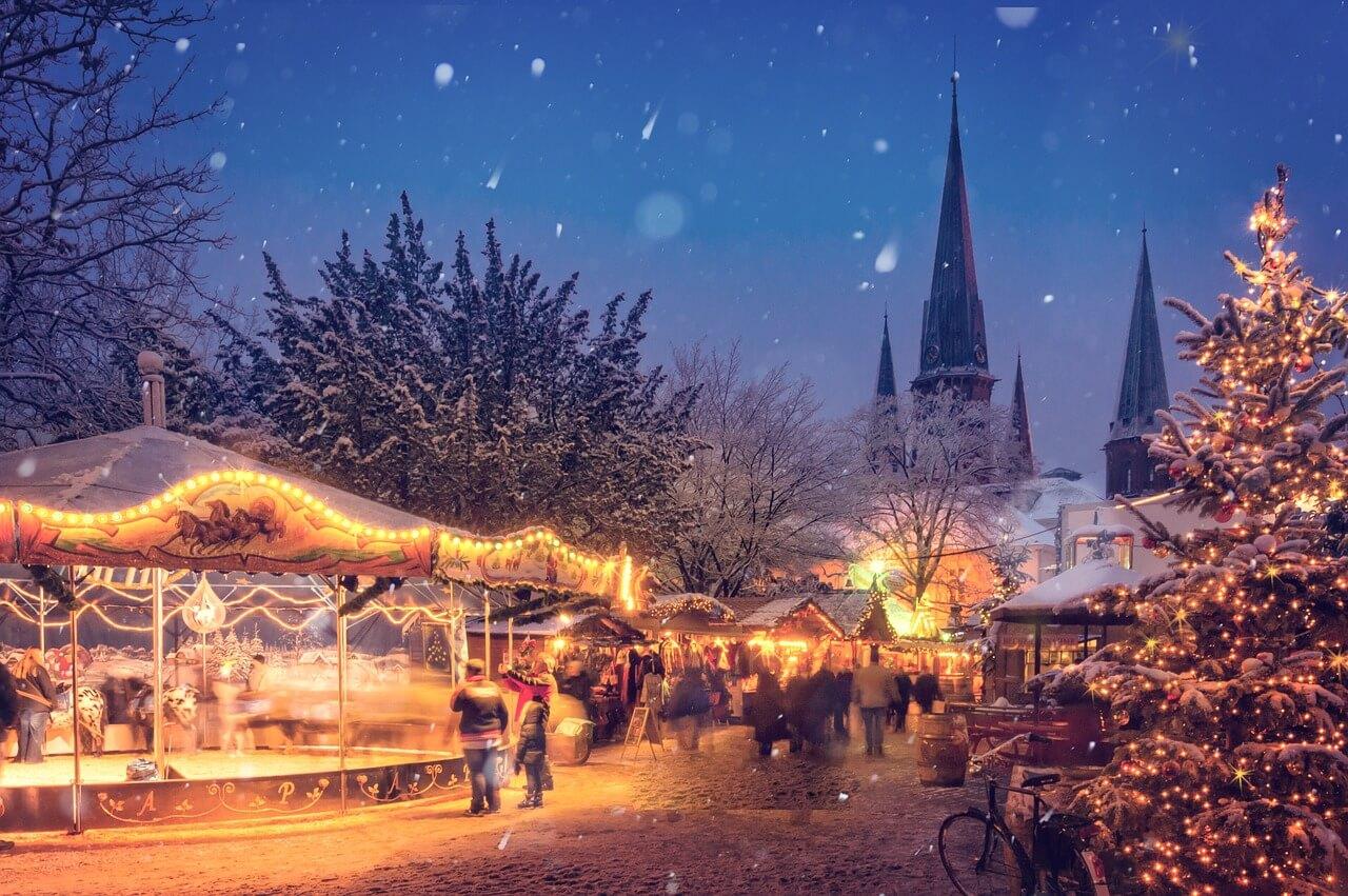 Die 10 größten Weihnachtsmärkte der Welt